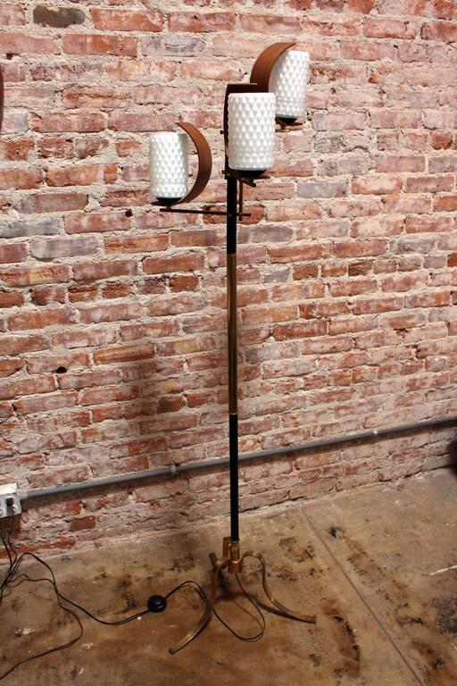 1950s Italian Floor Lamp in Style of Stilnovo 2