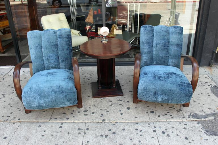 Mid-20th Century French Art Deco Living Room Set For Sale
