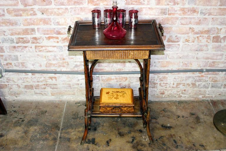 Antique british colonial cocktail table for sale at 1stdibs for Rent cocktail tables near me