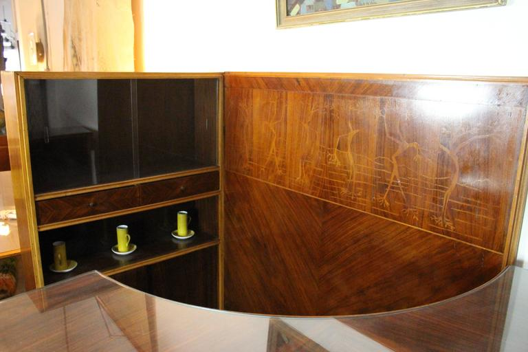 Italian Midcentury Dry Bar Buy Maritian Tagnin For Sale 1