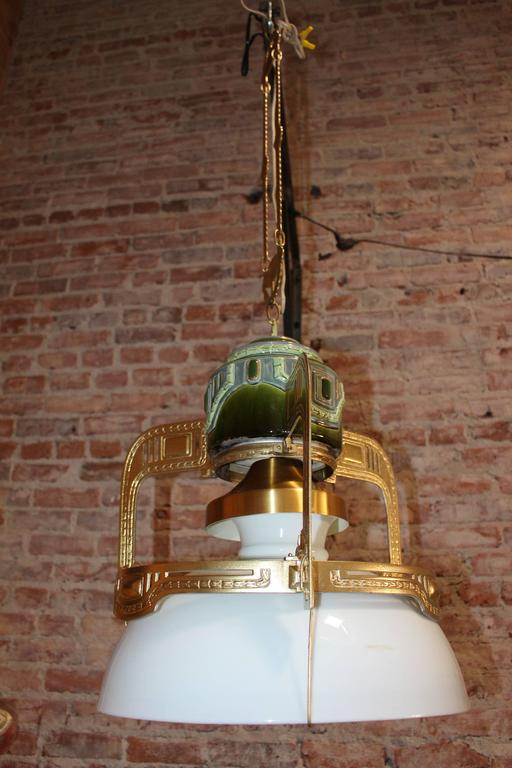 19th Century Secessionist Chandelier Austria For Sale