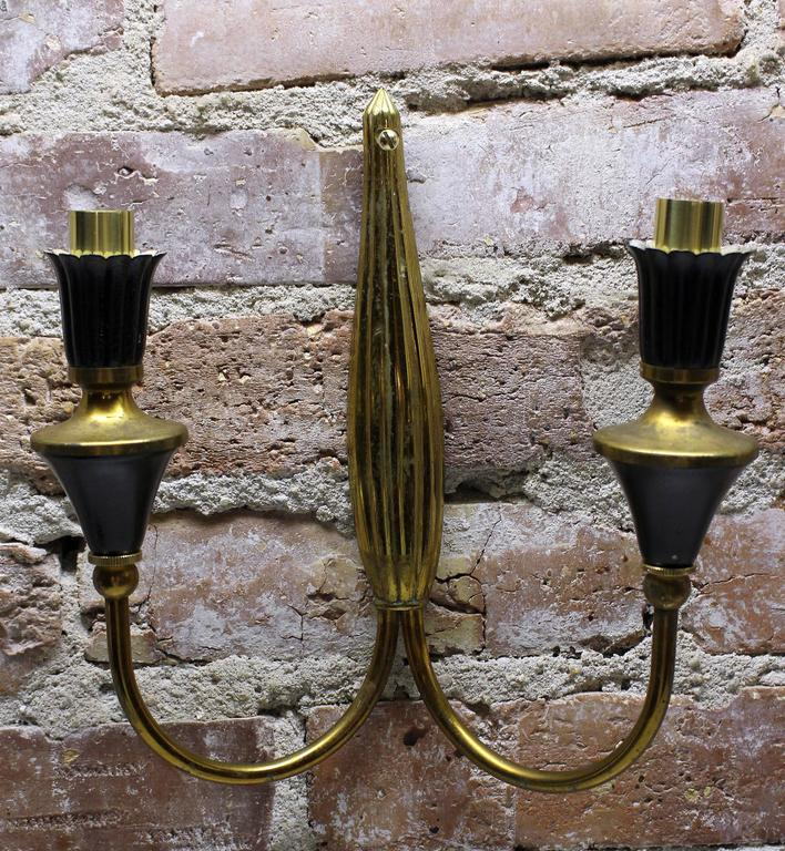 Mid-20th Century Italian Brass Applyques For Sale