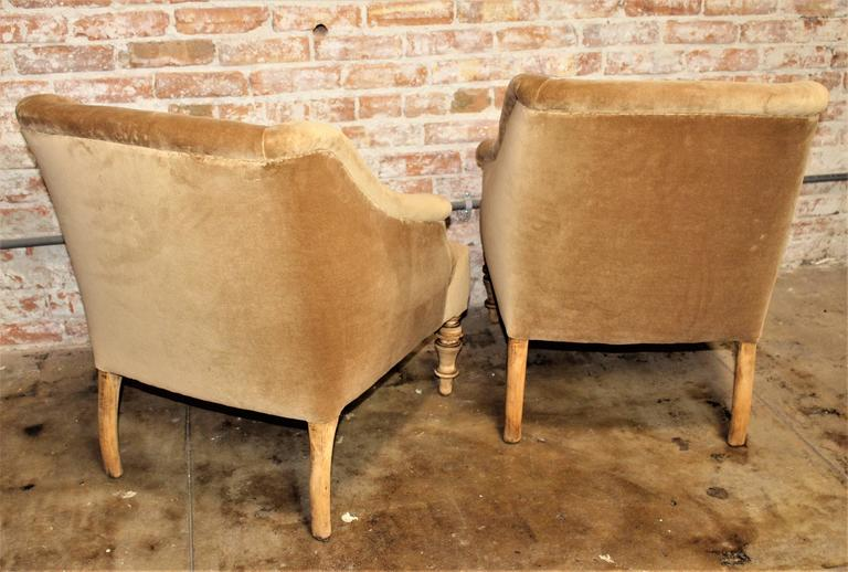 Austrian Biedermeier Attributed Pair of Chairs For Sale