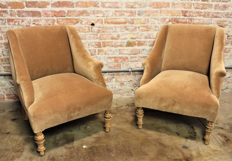 Biedermeier Attributed Pair of Chairs In Excellent Condition For Sale In Los Angeles, CA