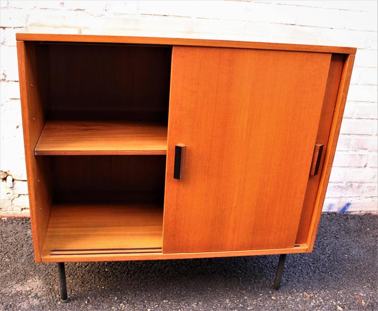 Mid-Century Modern Italian Cabinet by I.S.A Bergamo For Sale