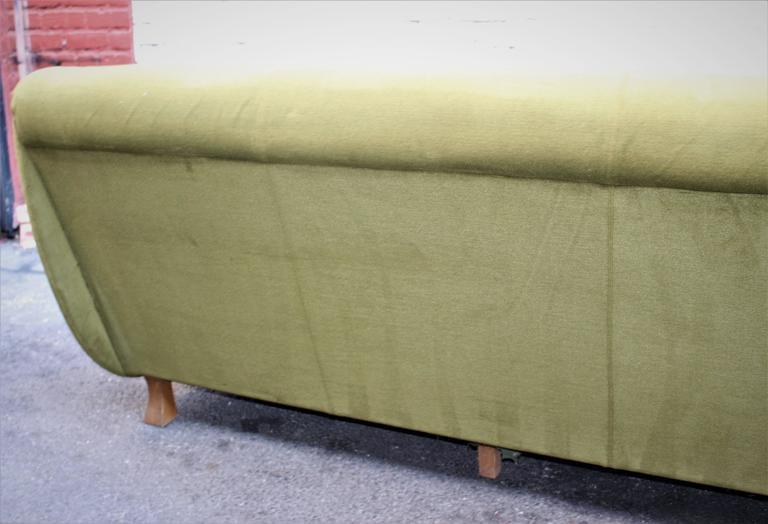 Art Deco Italian Sofa In Good Condition For Sale In Los Angeles, CA