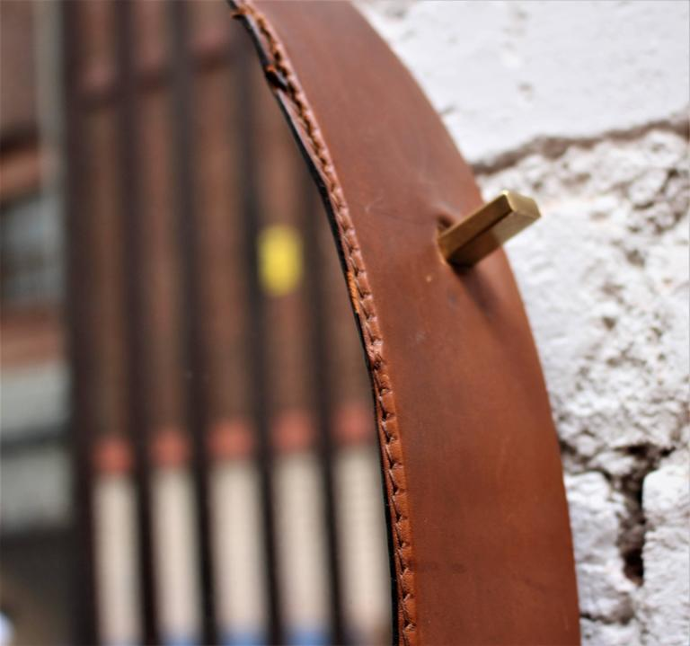 Italian Leather Mirrors by Still Domus 2