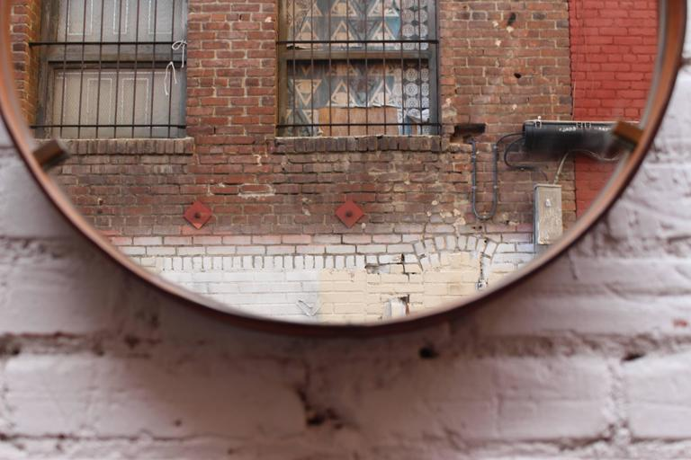Italian Leather Mirrors by Still Domus 3