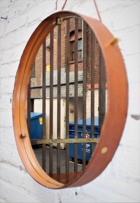 Italian Leather Mirrors by Still Domus 4
