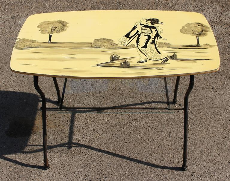 1950s Italian Coffee Table In Good Condition For Sale In Los Angeles, CA