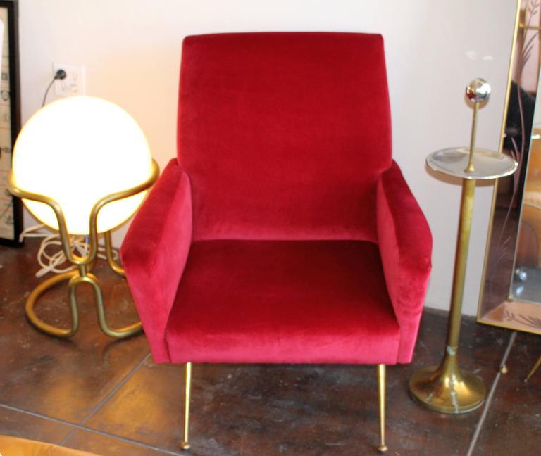 Mid-20th Century Italian Armchair, 1950s For Sale