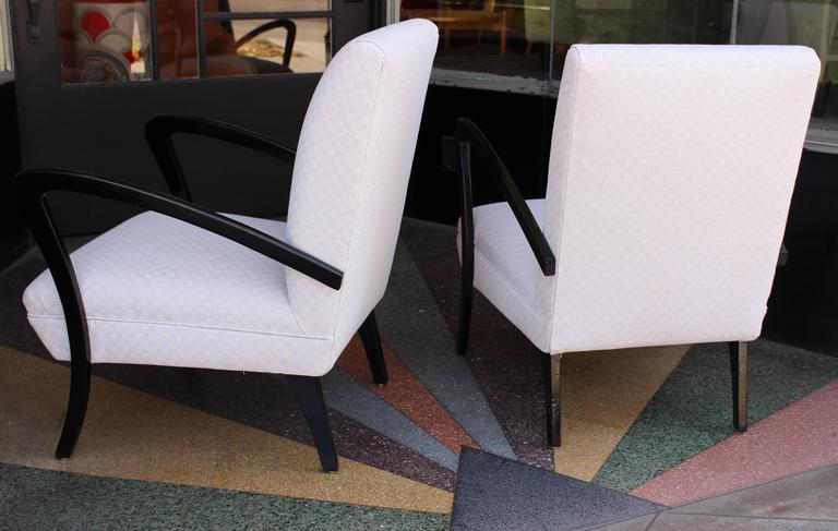 Mid-Century Modern Italian Chairs in Style of Paolo Buffa For Sale