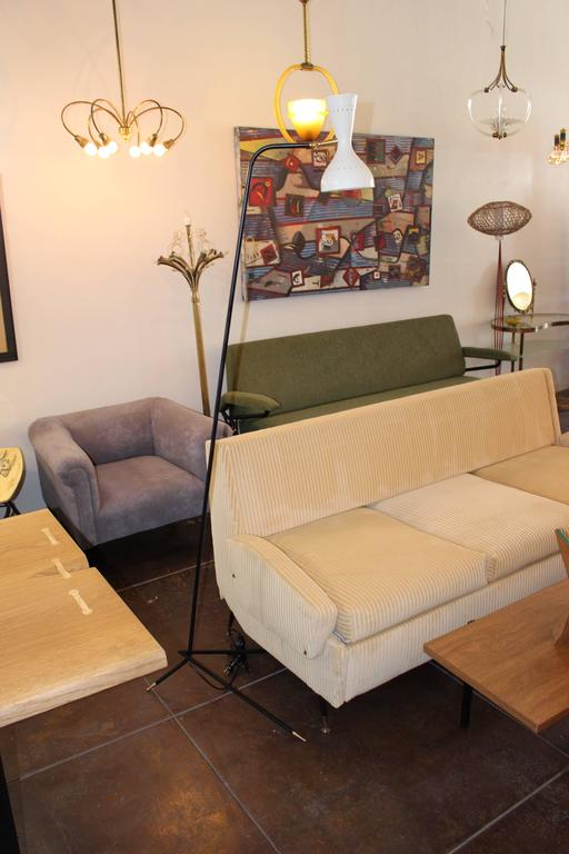 Pair of Italian Floor Lamps For Sale 1