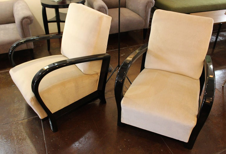 French Art Deco Club Chairs For Sale 1