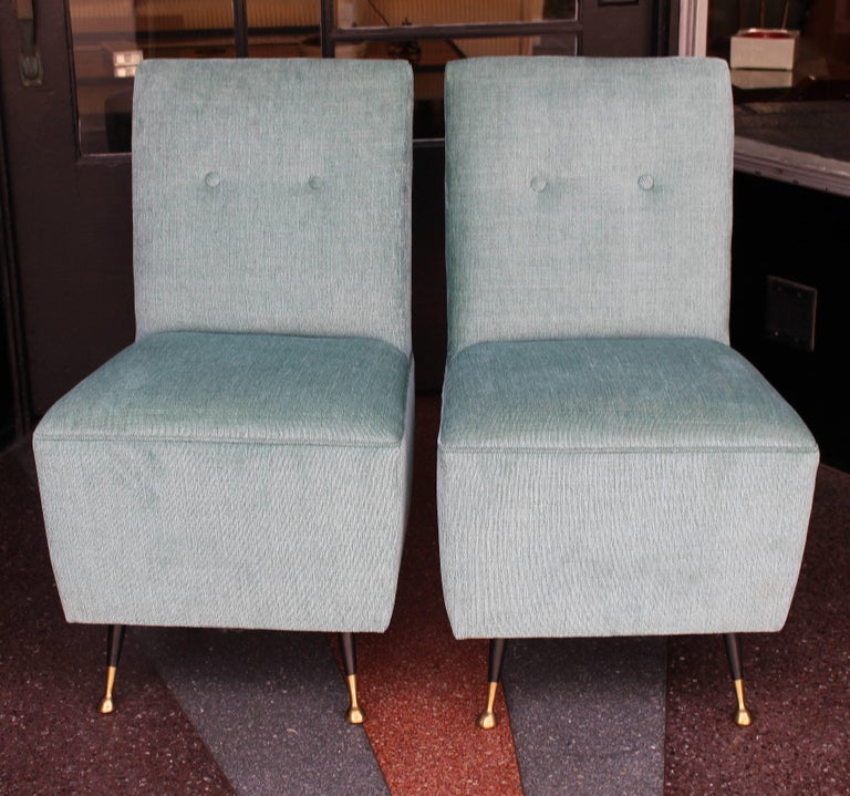Italian Side Chairs In Excellent Condition For Sale In Los Angeles, CA