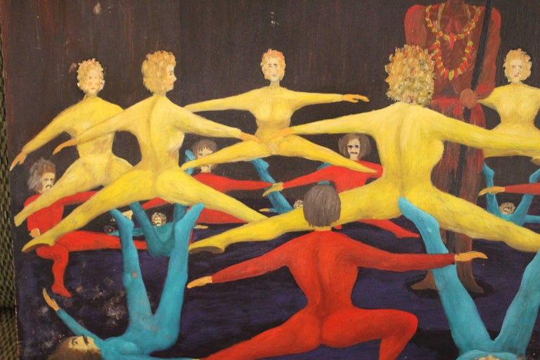 Painting Dancers by Fritz 2