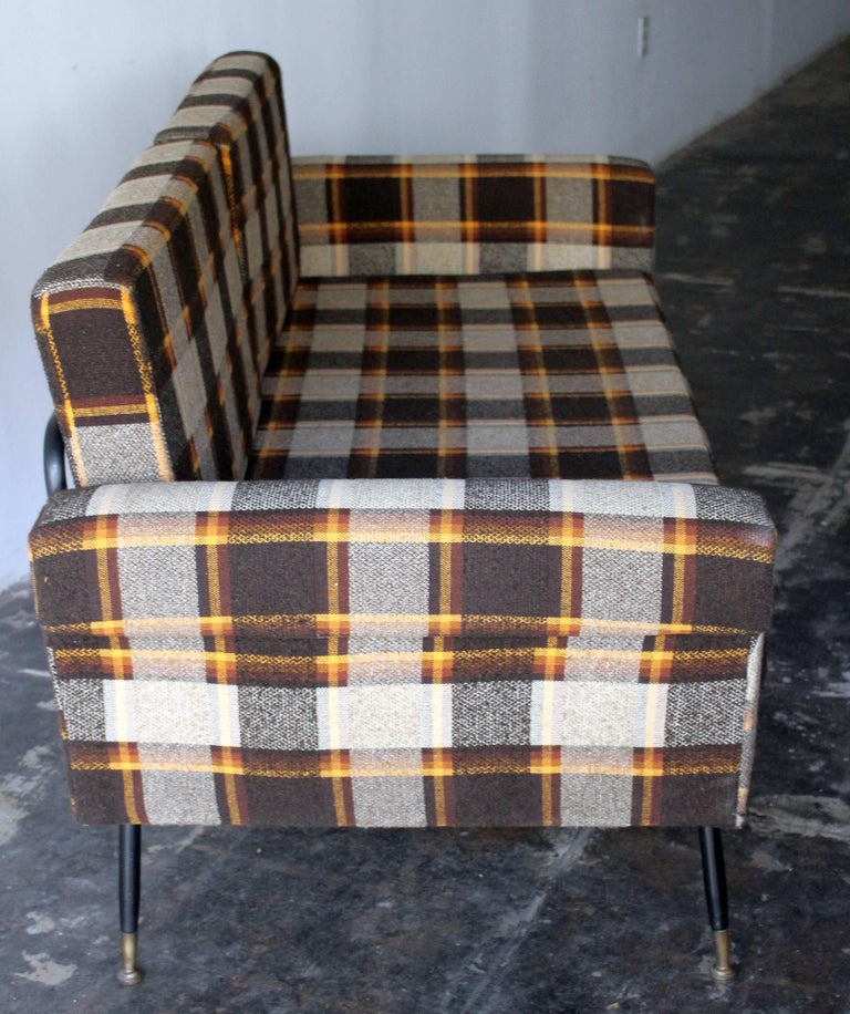 mid century Italian sofa bed