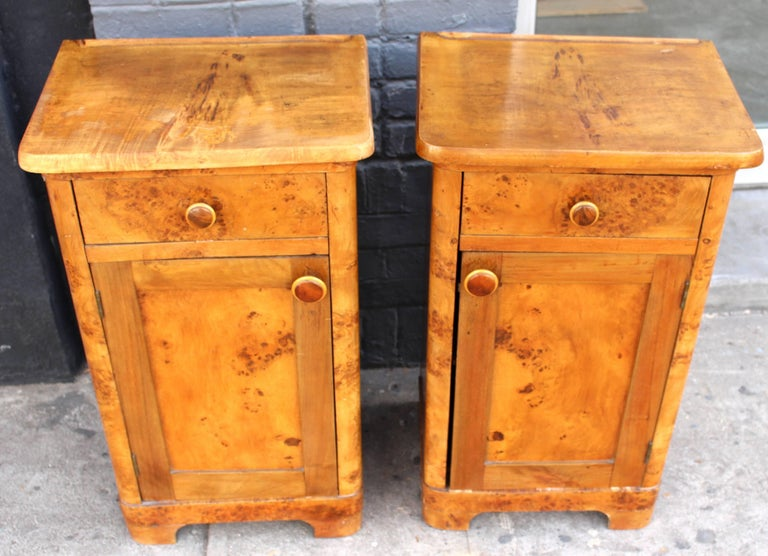 French Deco Pair of Nightstands 2