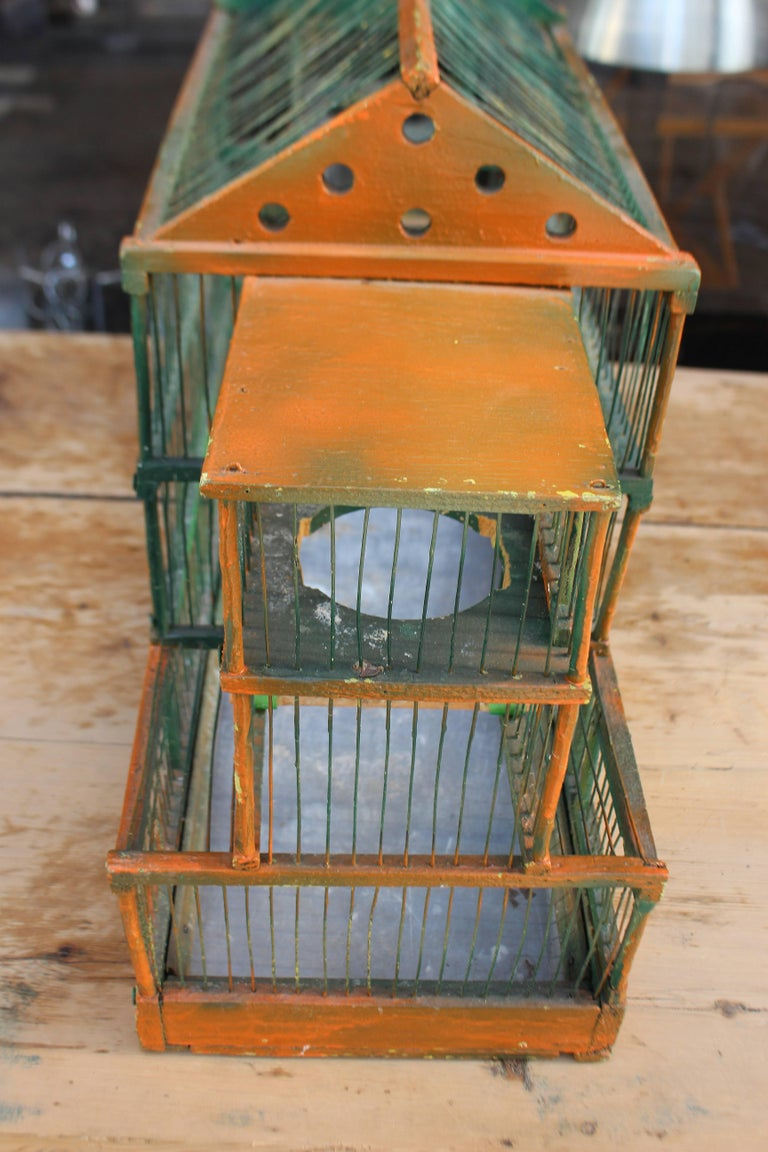 Antique Bird Cage 3