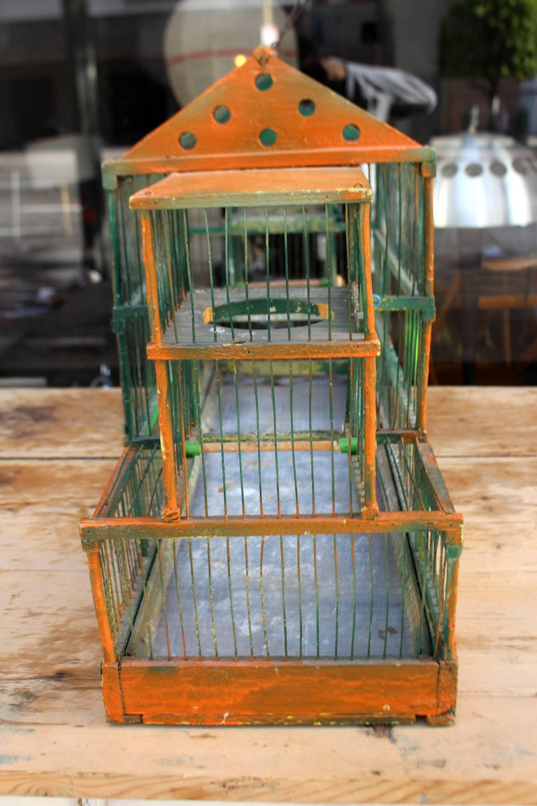 Antique Bird Cage 4