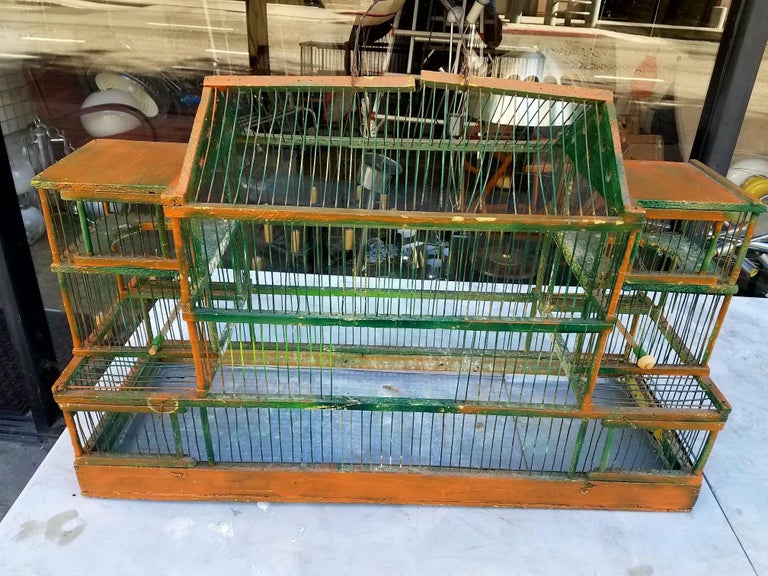 Antique Bird Cage 5