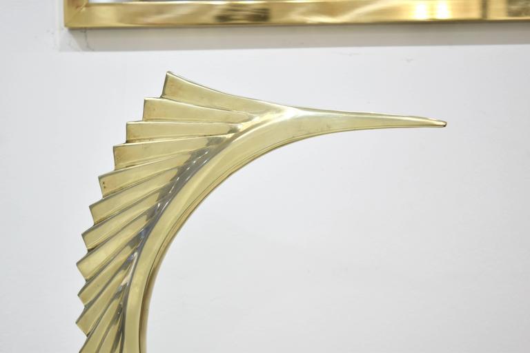 A brass