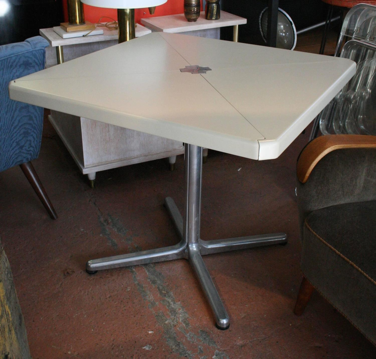 Piretti Folding Table And Chairs By Castelli For Sale At 1stdibs