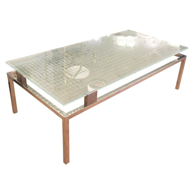 Studio Davico for Fontana Arte Coffee Table, Italy, 1962 For Sale