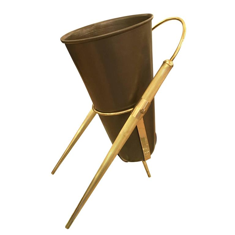 Stylish Italian Mid-Century Umbrella Stand