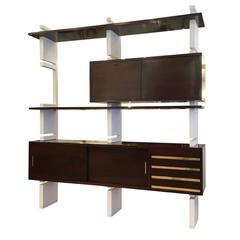 Large Bookshelf Unit by Amma, Italy, 1960s