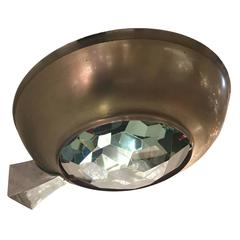 Max Ingrand for Fontana Arte Wall Light with Faceted Glass