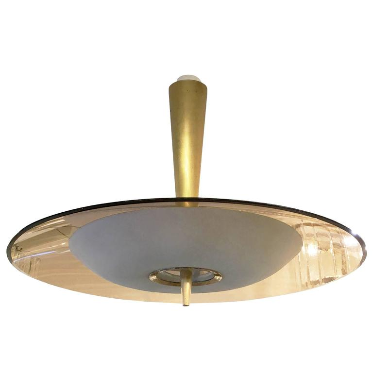fontana arte chandelier model 1462a by max ingrand for sale at 1stdibs. Black Bedroom Furniture Sets. Home Design Ideas