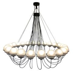 Large 24-Light Chandelier by Gino Sarfatti for Arteluce