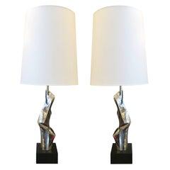 Laurel Table Lamps by Maurzio Tempestini
