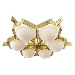 """""""Nido"""" Ceiling Light by Fedele Papagni for Gaspare Asaro"""