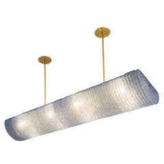 Elongated Ceiling Light in the Style of Barovier and Toso