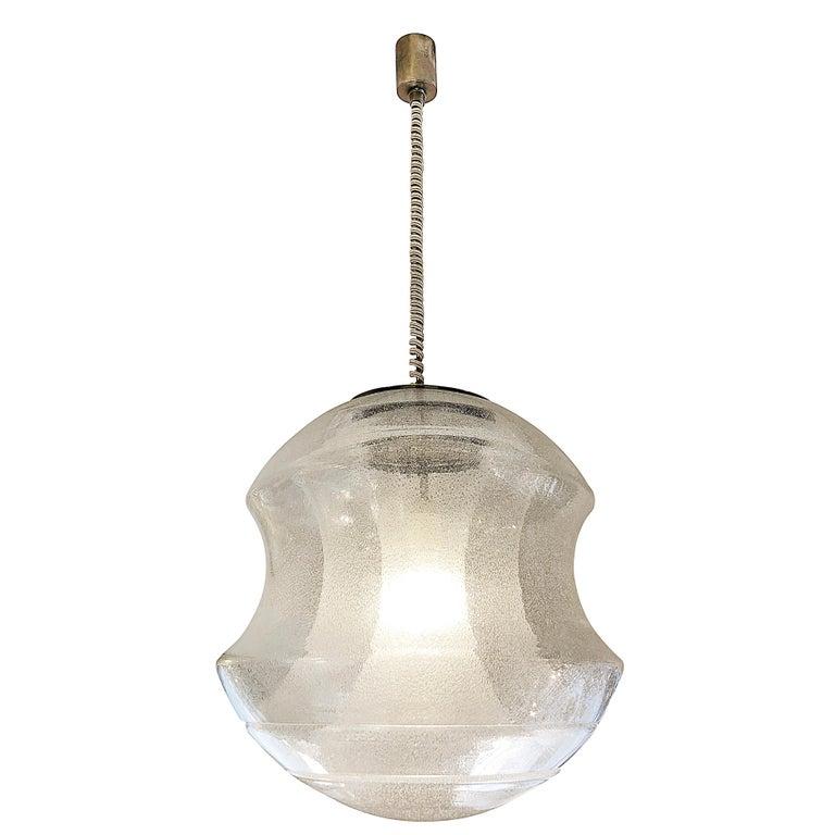 Murano Glass Pendant by Carlo Nason for Mazzega