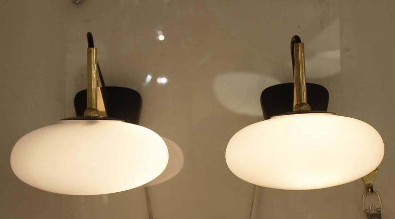 Mid-Century Modern Arredoluce Style Sconce, Italy, 1960s For Sale