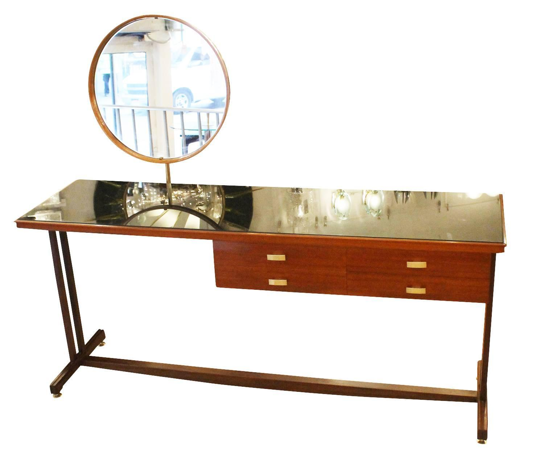 Italian mid century wood vanity at 1stdibs for Mid century modern furniture new york