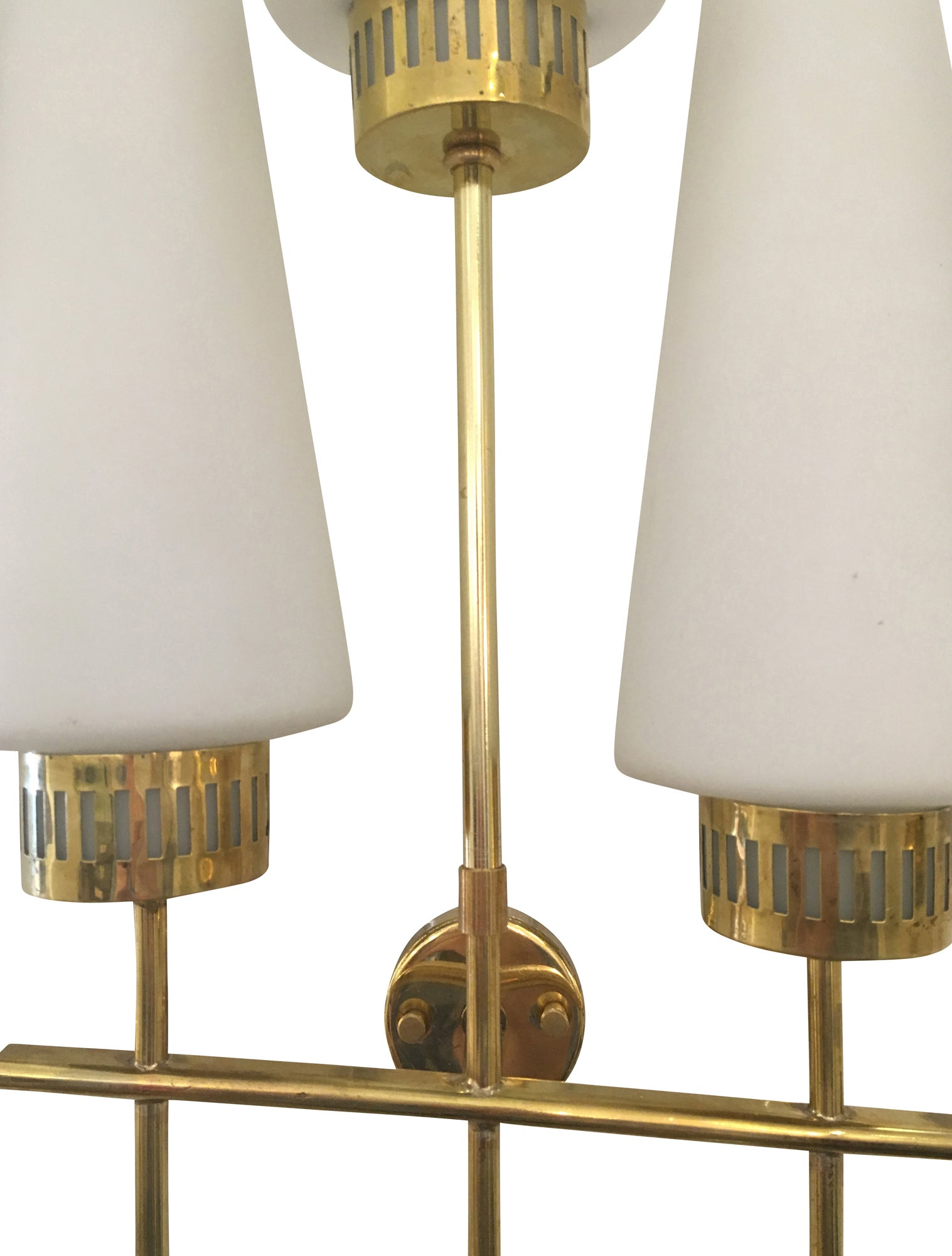 mid retro antique of sconce light products shades century wall brass