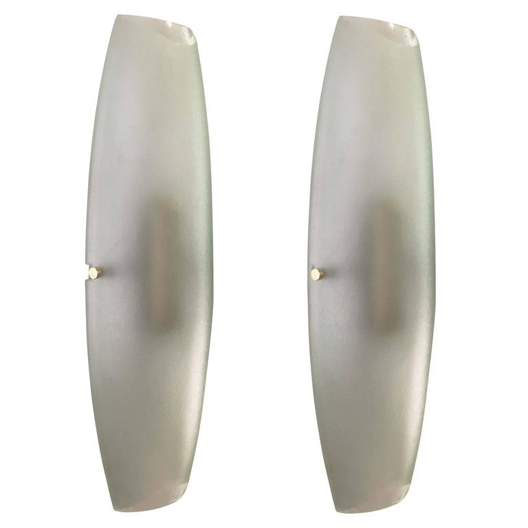 Wall Lights Models : Max Ingrand for Fontana Arte Wall Lights Model 2027 For Sale at 1stdibs