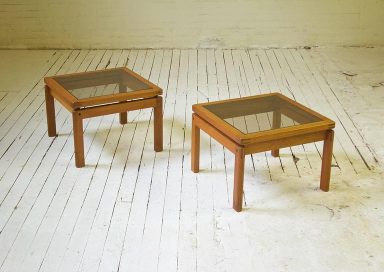 Scandinavian Modern Assorted Danish Side Tables For Sale