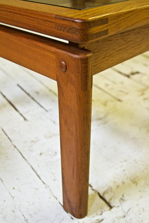 Oiled Assorted Danish Side Tables For Sale