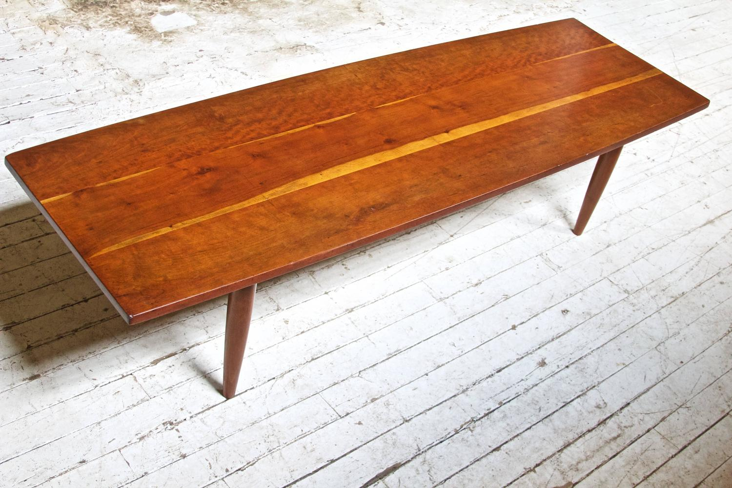 Cherry Table Attributed To Phillip Lloyd Powell For Sale At 1stdibs