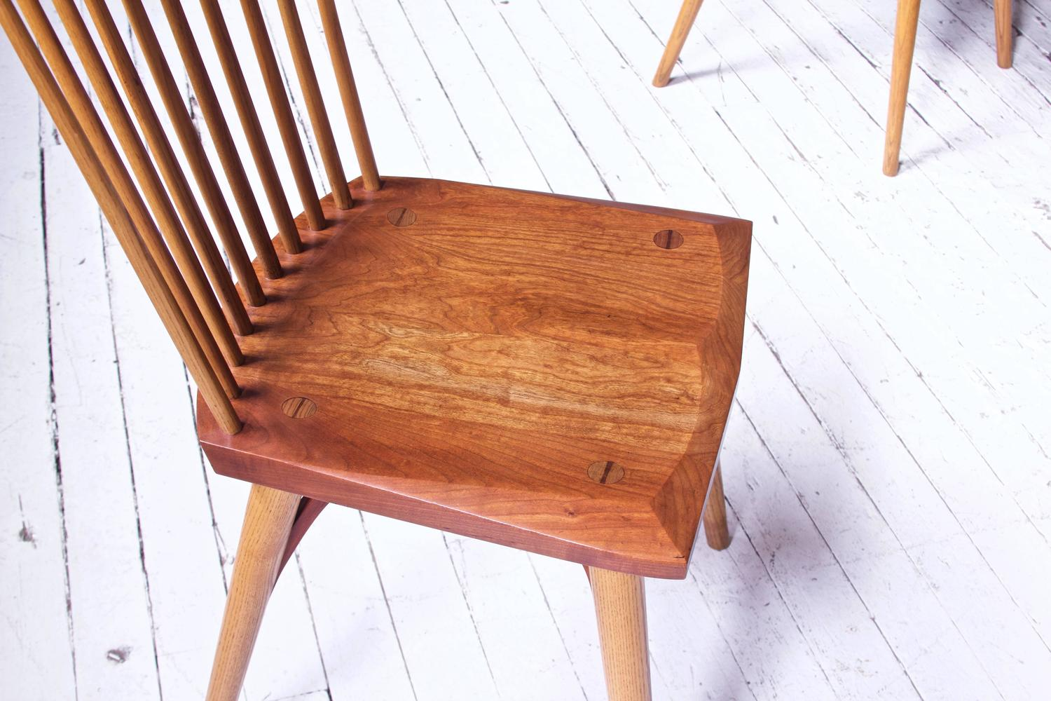 Vintage Set Of Cherrywood Thomas Moser 39 Eastward 39 Dining Chairs For Sale At 1stdibs
