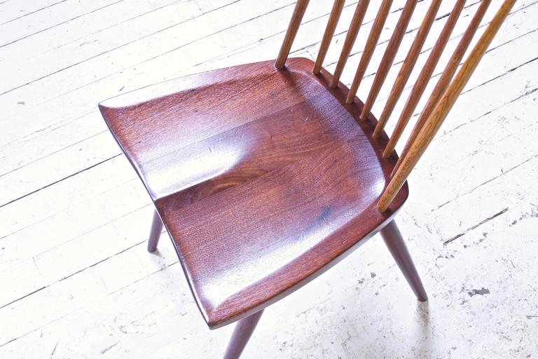 Signed 'New Chair' by George Nakashima in Walnut & Hickory, 1950s 2