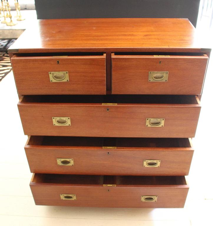 19th Century England Campaign Chest For Sale 4