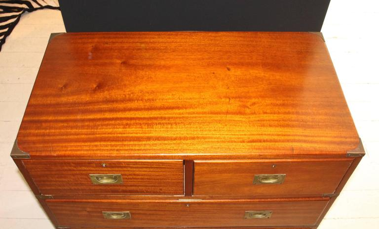 19th Century England Campaign Chest For Sale 5