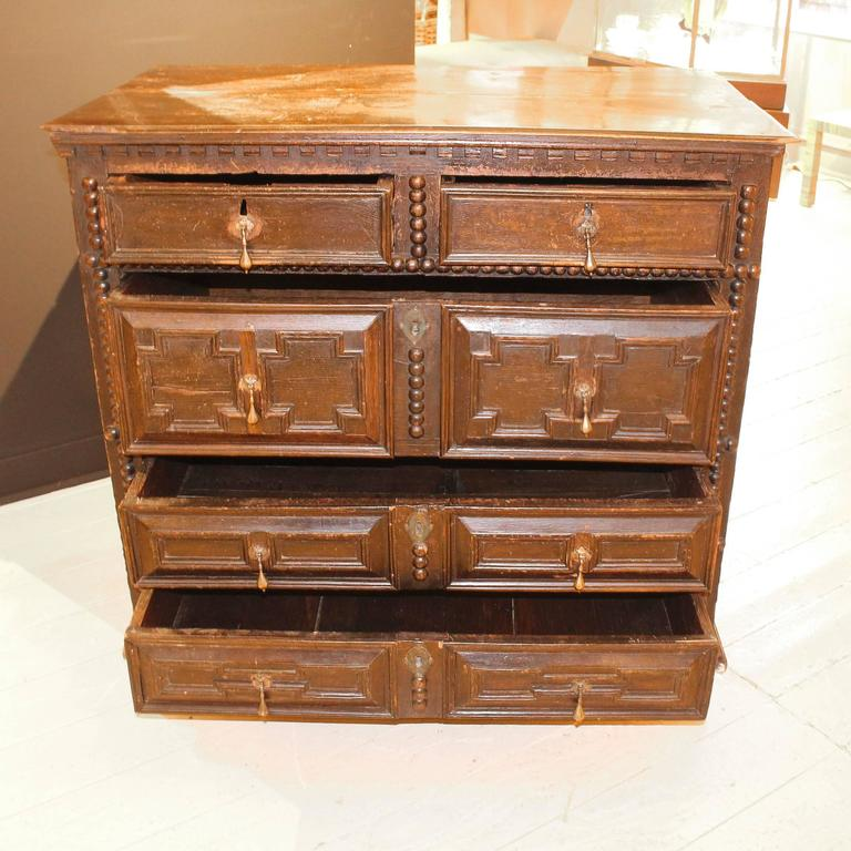 American Period 17th-Early 18th Century Pilgrim Chest For Sale