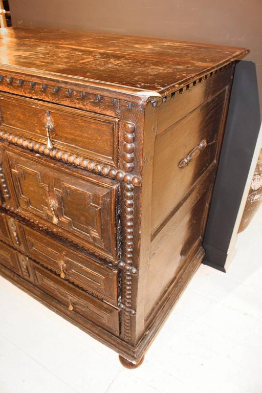 Period 17th-Early 18th Century Pilgrim Chest For Sale 5